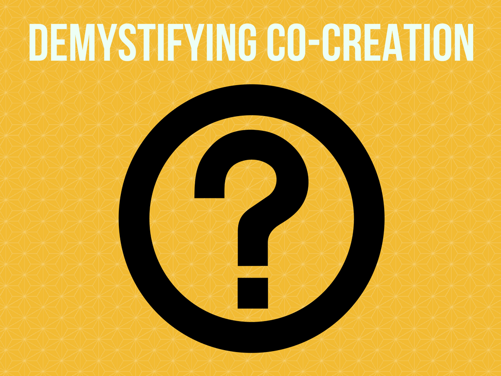 how to use co-creation
